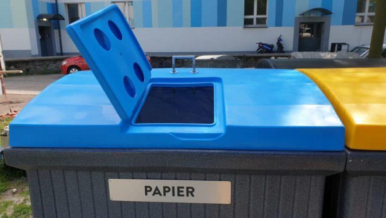 Odpowiednie kosze na odpady pomogą w recyklingu